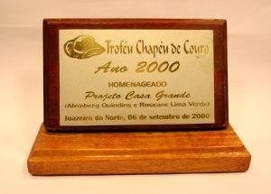 Troféu Chapéu de Couro Jornal do Cariri - 2000