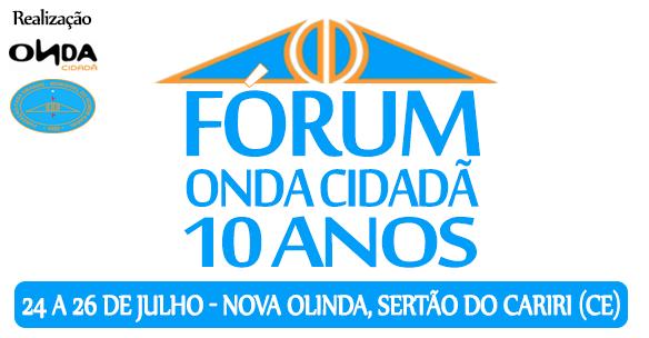 Fórum Onda Cidadã 10 anos