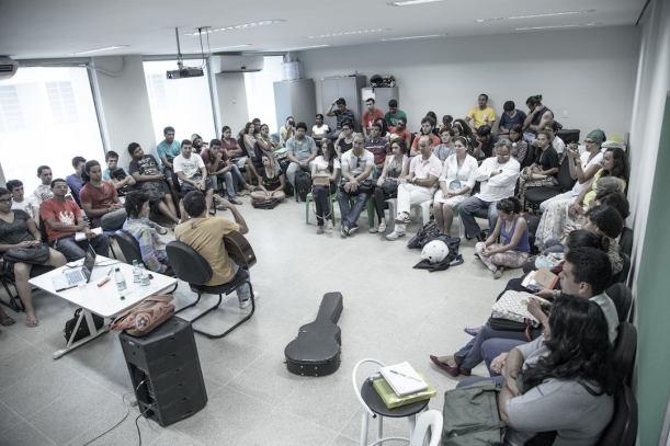 Aula de Etnomusicologia da UFCA