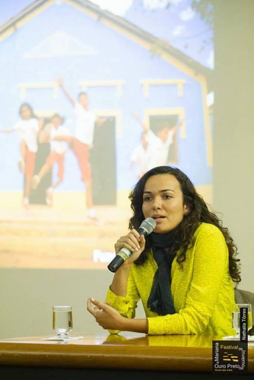 Fabiana Barbosa no Fórum das Artes 2015 - Ouro Preto