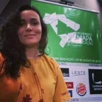 Fabiana Barbosa na Conferência Mapa Educação