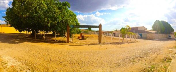 Fachada Frontal do Parque Ambiental dos Cajueiros