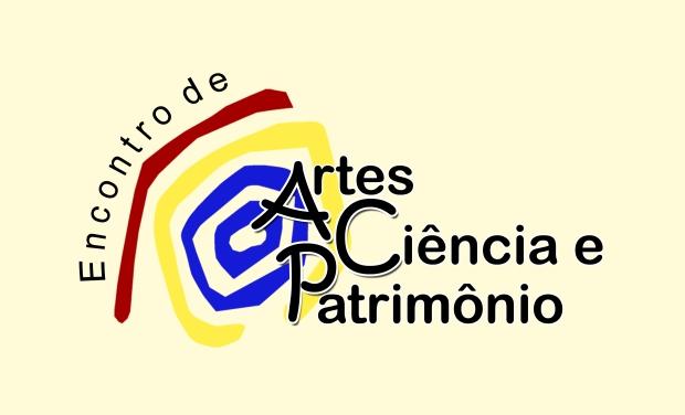 Encontro de Artes Ciência e Patromônio- Logo